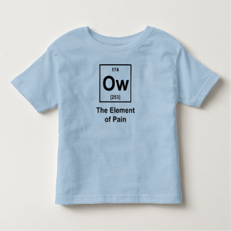Ow, The Element of Pain T-shirts