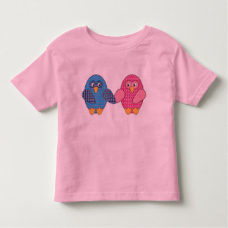 Owl together stitched shirts