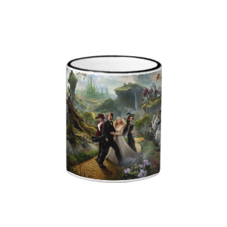 Oz: The Great and Powerful Poster 6 Ringer Coffee Mug