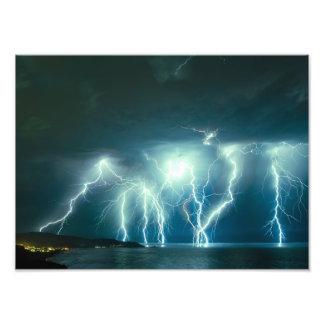 Pacifica lightning storm photo