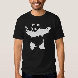 Panda Guns Tee Shirts