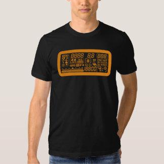 Panneau d'affichage à cristaux liquides t shirt