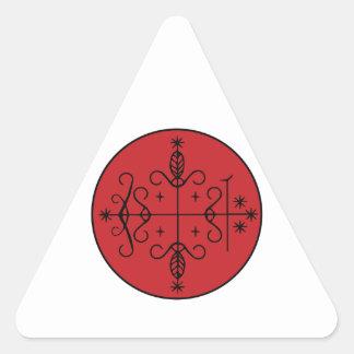 Papa Legba Veve Triangle Sticker