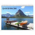 Parc national 2017 de glacier calendrier