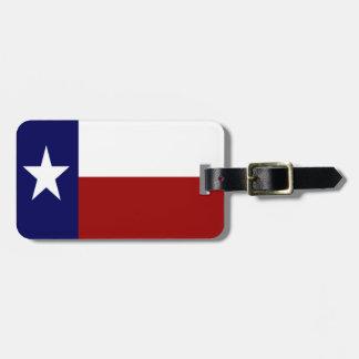 Patriotic Texas Flag Luggage Tag