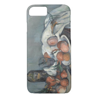 Paul Cezanne - Still Life with Onions iPhone 7 Case