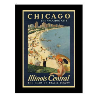 Paul Proehl Chicago Vacation City Postcard