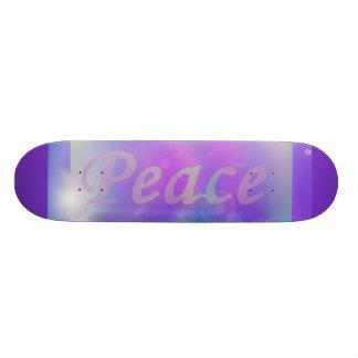 Peace Custom Skate Board