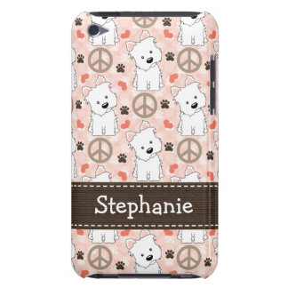 Peace Love Westies iPod Touch Cover