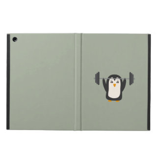 Penguin Weightlifting Cover For iPad Air