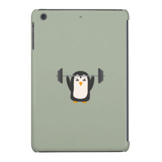 Penguin Weightlifting iPad Mini Retina Case