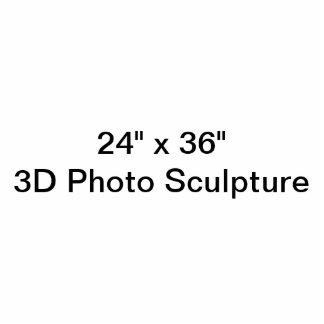 "Personalized 24"" x 36""  Photo Sculpture"