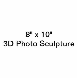 "Personalized 8"" x 10""  Photo Sculpture"
