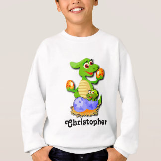Personalized Dinosaur mother and baby cartoon Tee Shirts