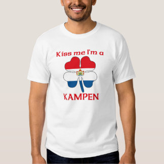Personalized Dutch Kiss Me I'm Kampen Shirt