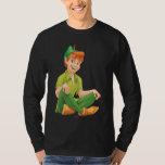 Peter Pan Sitting Down T Shirt