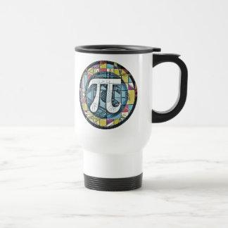 Pi Day Pi Symbols 15 Oz Stainless Steel Travel Mug