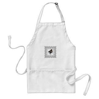 piano squared standard apron