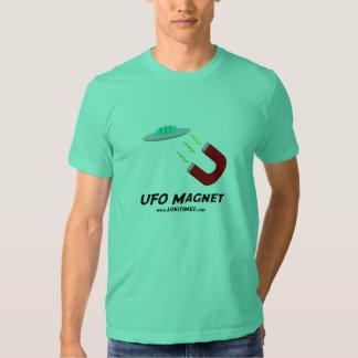 Pièce en t #1 d'aimant de l'UFO des hommes Tshirt