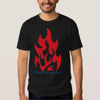 Pièce en t incendiée tshirts