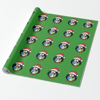 Pingouin de Noël Papiers Cadeaux