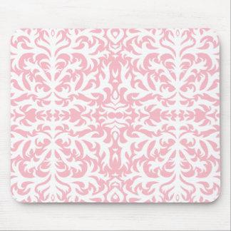 Pink Damask Elegance Mousepad