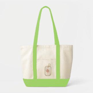 Pink Proud Army Mom Impulse Tote Bag