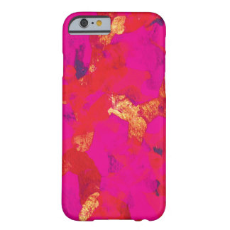 Pink Red Abstract Art iPhone 6 Case