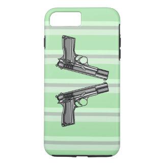 Pistols, Handgun Illustration iPhone 7 Plus Case
