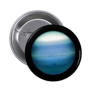 PLANET URANUS natural (solar system) ~ 2 Inch Round Button