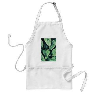Plant prints green art Green Art Standard Apron