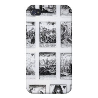Playing cards commemorating iPhone 4/4S covers