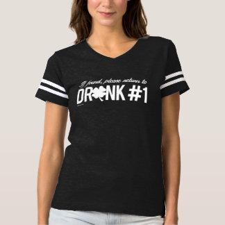Please return to Drunk 1 - Irish Humor Design --.p Shirts