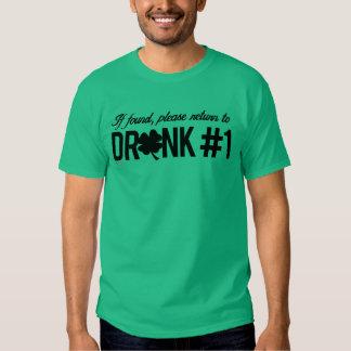 Please return to Drunk 1 - Irish Humor Design -.pn Shirts