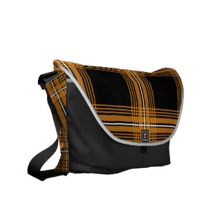 Plexus (Orange) Messenger Bag