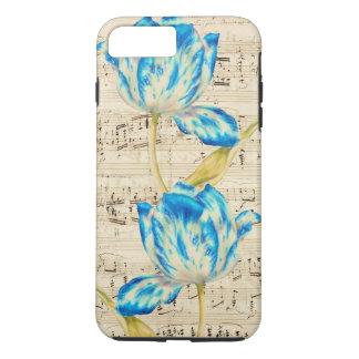 Poésie de tulipe coque iPhone 7 plus
