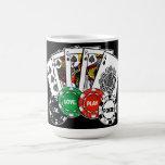 Poker v1 classic white coffee mug