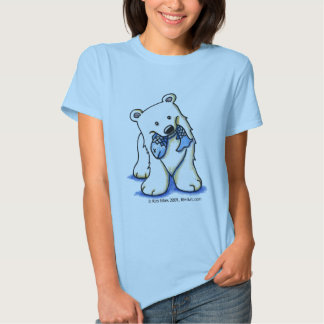 Polar Bear Ladies Baby Doll Fitted Shirts