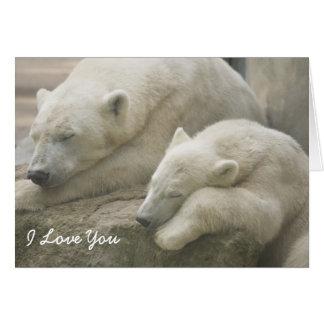 Polar Bear Mother's Day Greeting Card