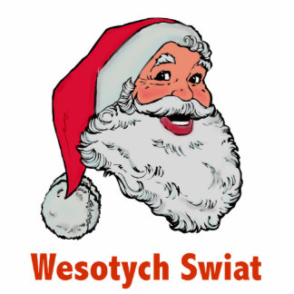 Polish Santa Photo Sculpture Ornament