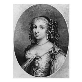 Portrait of Lady Denham Postcard