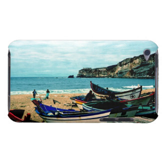 Portugal Seaside IV - Colorful Boats on the Beach Barely There iPod Case
