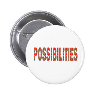 POSSIBILITIES : Wisdom Words Coach Mentor LOWPRICE 2 Inch Round Button
