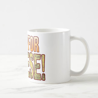 Pray For Blue Cheese Classic White Coffee Mug