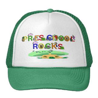 Preschool Rocks Mushroom Trucker Hat