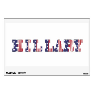 Presidential 2016 Elections Hillary & Kaine Wall Sticker