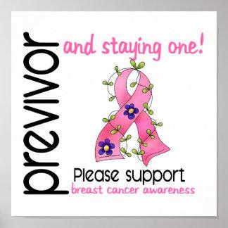 Previvor 9 Breast Cancer Poster