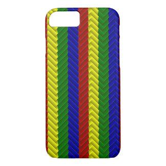 Primary Colors, Herringbone-iPhone 7 Case