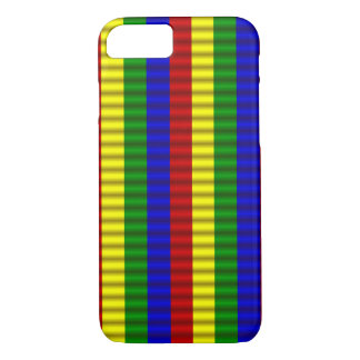 Primary Colors,Rolled Stripes 2-iPhone 7 Case