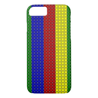 Primary Colors,Woven Stripes-iPhone 7 Case